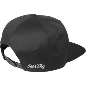 TSG Snapback Cap ripped black